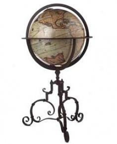 1745 Vaugondy Terrestrial Globe