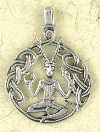 Cernnunos Pendant On Cord : Celtic And Irish Collection