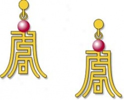 Chinese Imperial Earrings