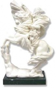 Napoleon On Horse : Language of Italy Iport - Italian Marble