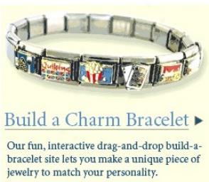Partner Store: Italian Charms Bracelet & Italian Slide Bracelet Store - J.j. Kent