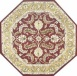 Kashan - Red / Gold Rug : Persian Tufted Collection