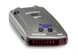 Attend 8500 X50 Radar Detector (red Display) Escor5 8500x50rd-red - Car, Truck Or Shv