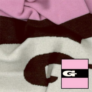 """g"" For Girl Merino Wool Blanket"