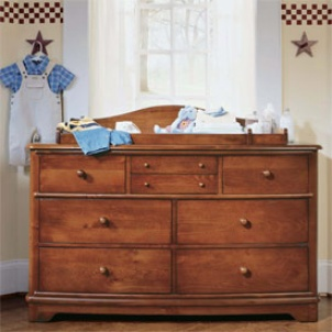 Cottage Cove Dresser With Optional Changer