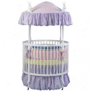 Country French Round Crib