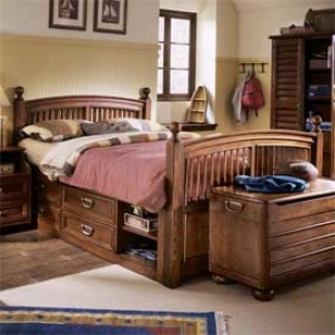 Harbor Town Captains Twin Bed