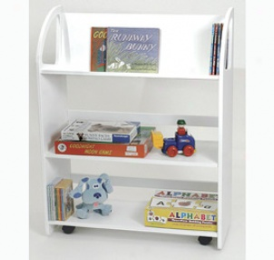 Kids Rolling Bookshelf