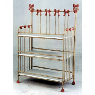 Princess Bow Changing Table