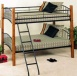 Country Pine & Iron Twin-twin Bunk Bwd