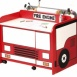 Fire Engine Activity Desk