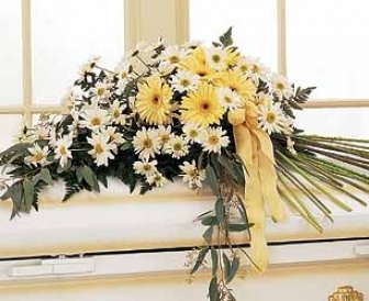 Drop Of Sunshine Casket Display