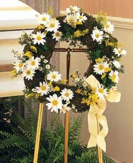 Drop Of Sunshine Wreath