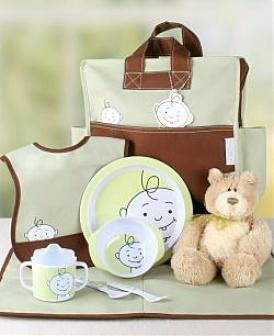 Peek-a-boo Baby Bag