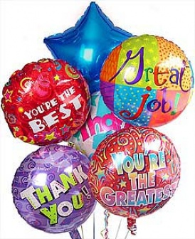 Picture of Thank You Balloon Bouquet @ Images Nation dot com