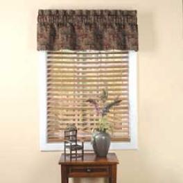 Aztec Rod Pocket Valance 14.5 X 54 Top Treatments Curtains