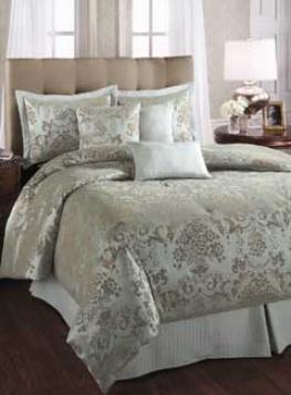 Barcelona Barcelona- 7pc Queen Size Comforter Set