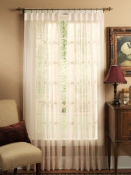 Colette Pinch Pleated Pair Drapery 63 X 48 Drapperies Curtains