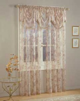 Julianne Trumpet Valance 33 X 42 Sheers & Semi-sheers Curtains