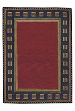 Riverwood Red ?3' X 2' Area Rug