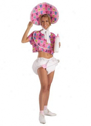 Adult Baby Doll Costume