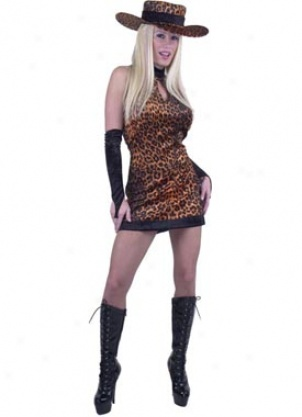 Adult Cheetah Diva Costume