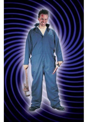 Adult Plus Killer Mechanic Costume