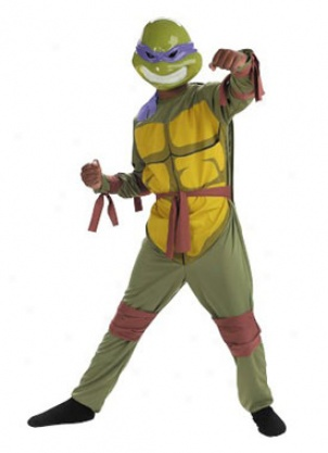 Picture of Child Donatello Ninja Turtle Costume @ Images Nation dot