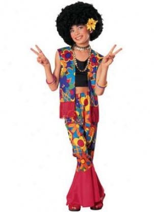 Child Flower Power Costume