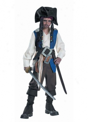 Child Jack Sparrow Deluxe Costume