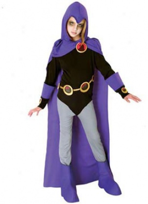 Child Teen Titans Raven