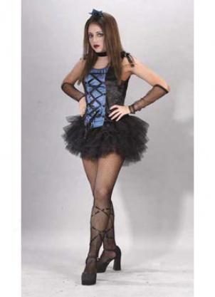 Teen Goth Ballerina Costume