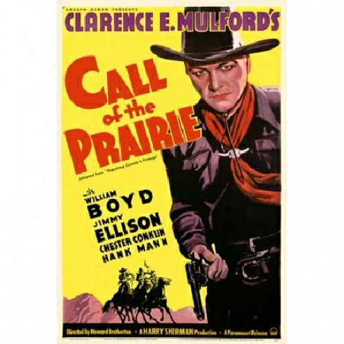 Call Of Tbe Prairie - Movie Poster