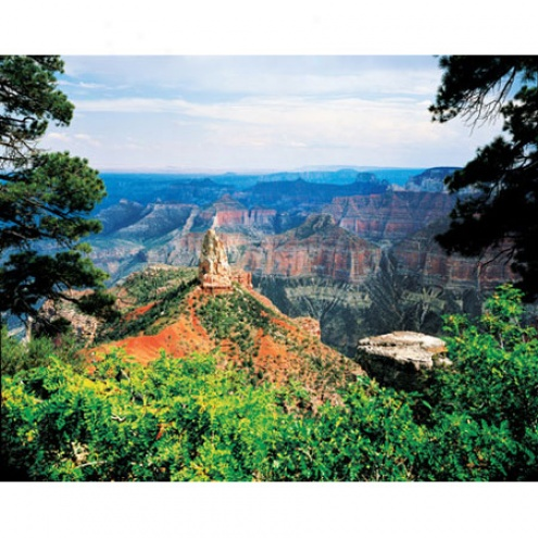 Grand Canyon North Rim Jigsaw Puzzle 500pc