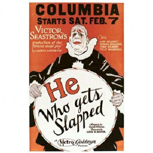 He Who Gets Slapped - Movie Poster