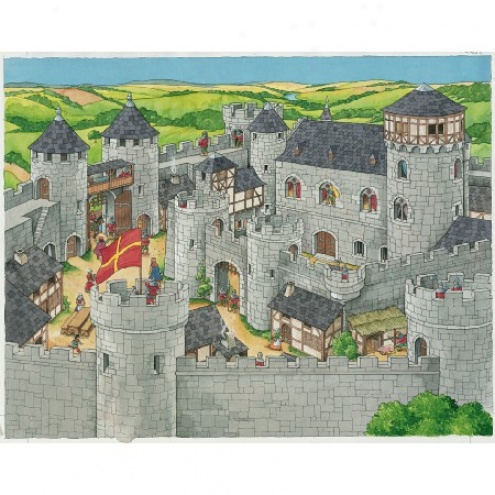 ... of Life At The Castle See Inside Puzzle 34pc @ Images Nation dot com