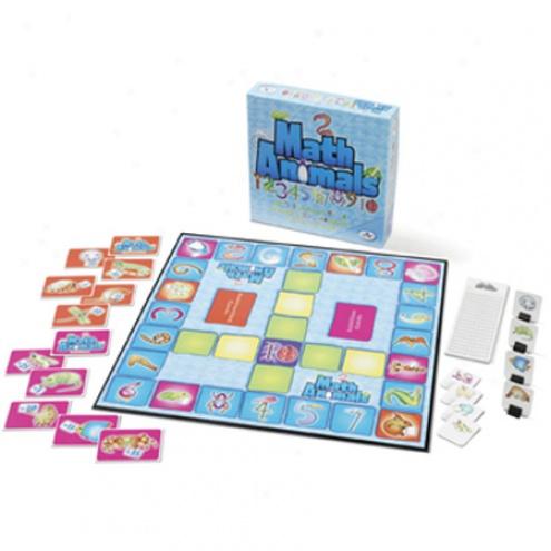 Mathanimals Board Game