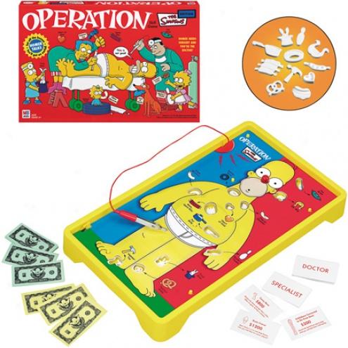 Operation The Simpsons Ediiton