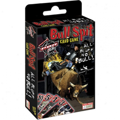 Pbr Bull Spit Card Game