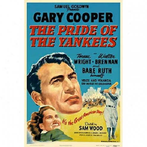 Pride Of The Yankees, The - Movie Poster