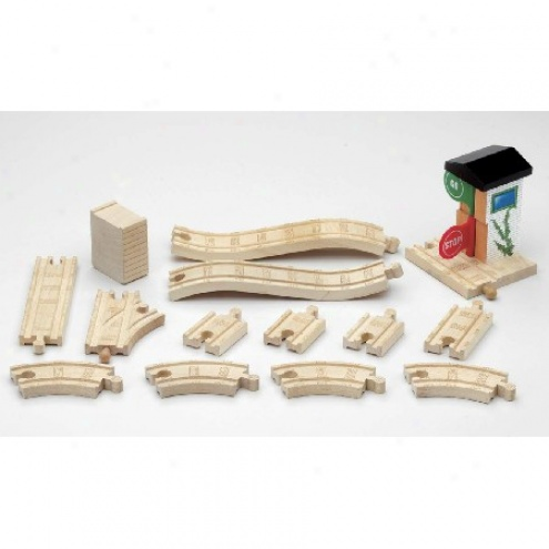 Thomas Wooden Rai1way Advanced Represent 8 Set Expansion Pack