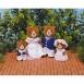 Calico Critters Marmalade Bear Family