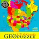 GeoPuzzle USA and Canada 70pc Jigsaw Puzzle