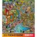 Steve Skelton Tooniverse Pontcheff's Harbor Jisaw Puzzle 550pc