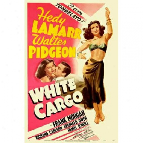 White Cargo - Movie Poster
