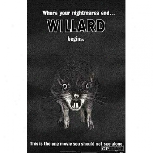 Willard - Movie Poster