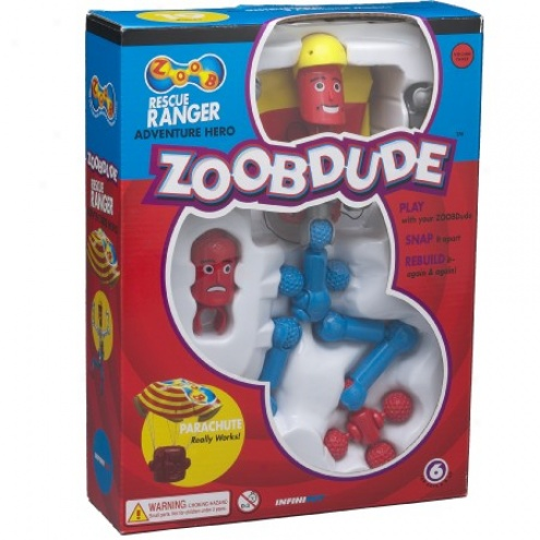 Zoob Dude Rescue Ranger Adventure Hero