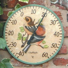 Chaffinch Dial Thermometer
