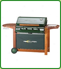 Deluxe 4 Burner Gas Barbecue
