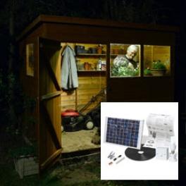 Diy Shed Solar Lighting Kit Large